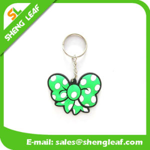Custom Promotional Gift Soft PVC Key Ring (SLF-KC083) pictures & photos