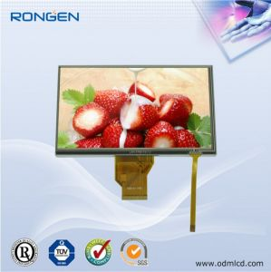 Rg-T070swh-03p 7 Inch TFT LCD Screen with Touch Screen Car Display pictures & photos