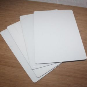 White Imprintable Sublimation Wood Sheet for Photo Panels Free Samples