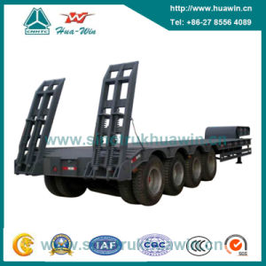 4 Axle Low Bed Semi Trailer pictures & photos