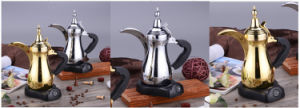 One Switch Retro Styling Arabic Style Coffee Maker pictures & photos
