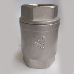 Threaded Vertical Check Valve (H12W) pictures & photos