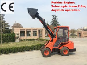 Multi-Function Mini Telescopic Loader (HQ908D) with Perkins Engine pictures & photos