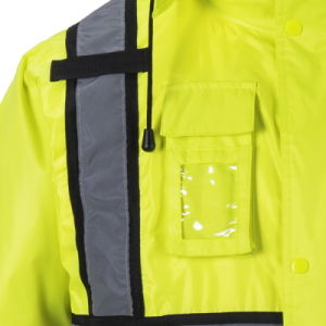 Winter High Visibility Safety Jacket Reflective Workwear pictures & photos