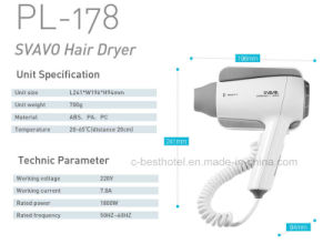 Fast Dry Hair Dryer Bathroom Hair Dryer V-173 pictures & photos