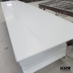 Glacier White 12mm Staron Pure Acrylic Solid Surface pictures & photos
