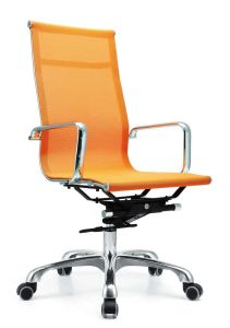 Office Furniture Chromed Steel Mesh Chair pictures & photos