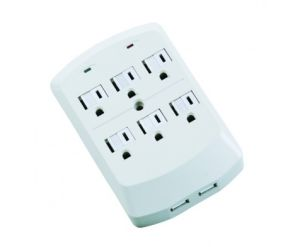 6 Outlets Surge Protected Current Tap with USB Ports pictures & photos