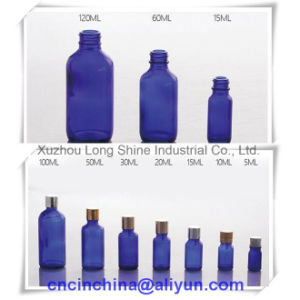 Cobalt Blue Glass Bottle 5-120ml pictures & photos