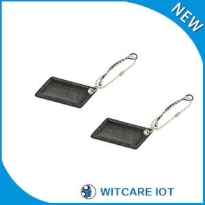 Leather 125kHz Lf RFID ID Card for Access Control