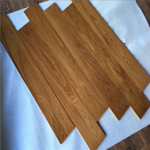 UV Coating Multilayer Teak Color Oak Dolls House Wooden Flooring