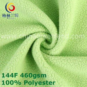 Knitted Polyester Polar Fleece Fabric for Woman Garment (GLLML381) pictures & photos