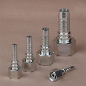 DIN 3865 Zinc Galvanized Stright Metric Female Hydraulic Hose Fitting pictures & photos