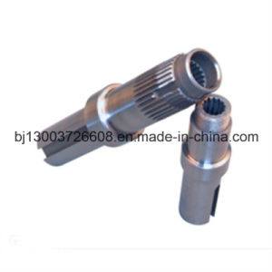 Customized Precision CNC Machining Internal Spline Shafts pictures & photos