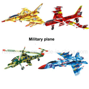 Wholesle Military Airplane Paper Puzzle for Kids Toy pictures & photos