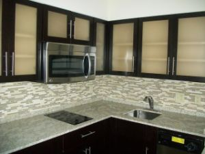 American Style Wooden Kitchen Cabinets pictures & photos