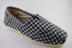 Best Selling Fashion Flat Canvas Shoes for Men (NU003-7) pictures & photos
