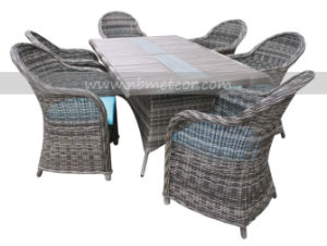 Mtc-062 Rattan Patio Furniture Dining Set pictures & photos