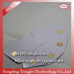 Contact IC Card with Sle 5528 Chip Card Maker pictures & photos
