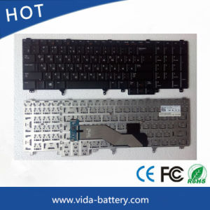 Keyboard for DELL Latitude E6540 E6520 M4800 Black Ru Layout pictures & photos