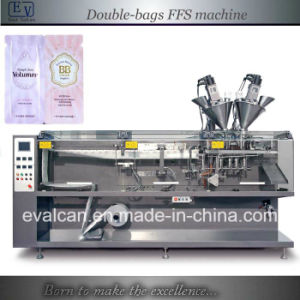 Automatic Form Fill Seal Twin Link Machine pictures & photos