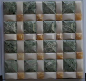 Building Materal Mixed Color Marble Stone Mosaic of Building Wall Tile (FYSL319)