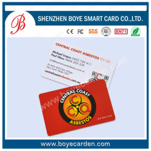 High Quality PVC Plastic RFID Contactless Smart Card pictures & photos