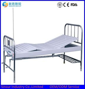 Buy Manual Double Shake/Crank Hospital Medical Beds pictures & photos