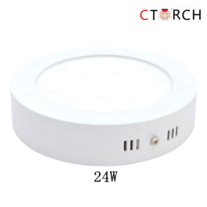 Corch Surface Round Series LED Panel Light 6W 12W 18W 24W pictures & photos