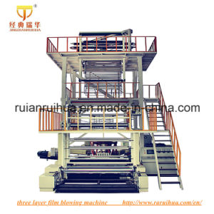 (SJ Series) One Layer PE Film Blowing Machine pictures & photos