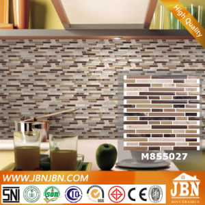 Wall and Floor Emperador and Glass Mosaic (M855027) pictures & photos
