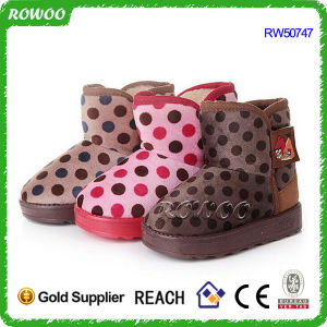 Kids′ Winter Warm Fluffy Boots (RW50747)