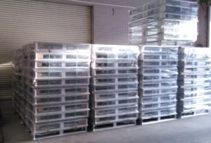 Aluminium Pallet for Food-Stuff Industry Transportation pictures & photos