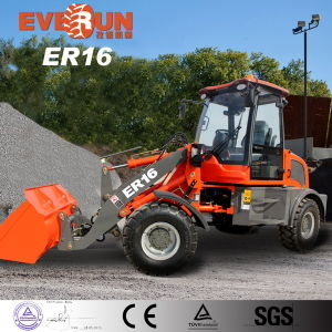 Everun Brand Ce Certificated 1.2ton Small Wheel Loader pictures & photos