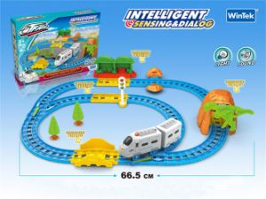 Intelligent Toy B/O Railway Train Toys with Sound (H6964140) pictures & photos