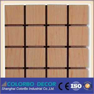 MDF Wall Board Perforated Acoustic Sound Absorbing Panel pictures & photos