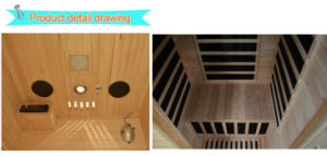 2016 Far Infrared Sauna for 1 Person-H1 pictures & photos
