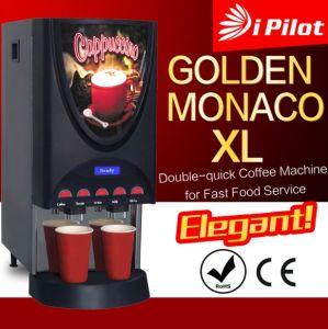 Commercial Double Quice Instant Coffee Machine pictures & photos