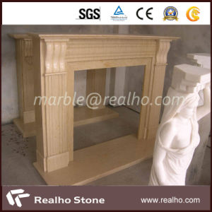 Latest Price Empire Gold Yellow Marble for Fireplace, Project