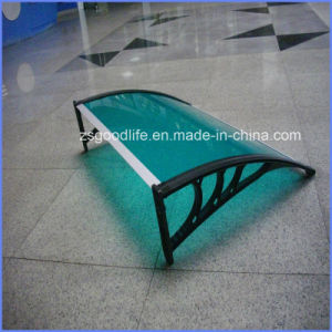 New Design Fixed Canopy Awning with Drain Water Gutter pictures & photos
