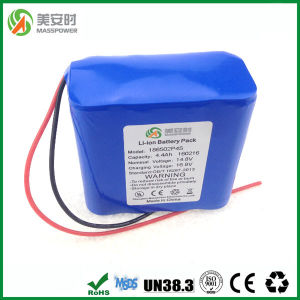 Full Capacity 4400mAh 14.8V 18650 Battery Pack