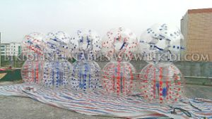 Crazy Sport! ! ! Newly Style Human Bubble Ball/Soccer Bubble/ Inflatabe Bumper Ball with Pop up Soccer Goal pictures & photos
