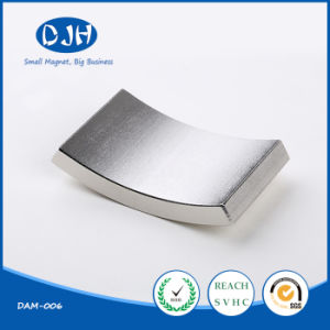 Small Size Sintered NdFeB Arc Permanent Neodymium Magnet for Motor pictures & photos