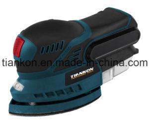 Power Tool Electric 18V Li-ion Battery Cordless Mouse Sander (TKDR11)