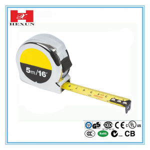 New Salable 3m 5m 7.5m 8m 10m Popular Beautiful 16FT Rubber Covered Steel Tape Measuring, Tape Measure pictures & photos
