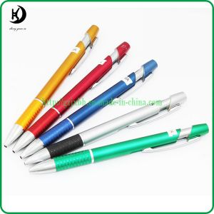 Customized Logo Advertising Click Ballpoint Plastic Pen Ball Pen (PYB 05)