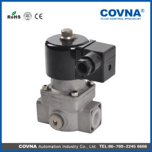 Gas Valves Solenoid Valve with Gas Alarm pictures & photos