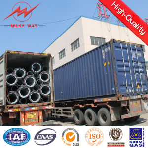 4mm 6mm Electric Power Transmission Steel Tower Pole pictures & photos