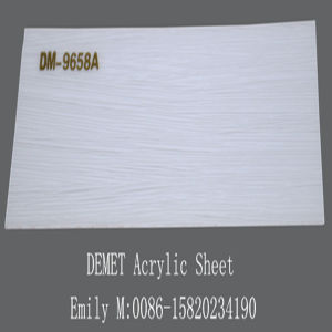High Glossy Acrylic Sheet for Kitchen Cabinet Door (DM-9658) pictures & photos