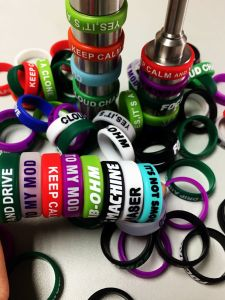 2015 Ecig Accessories Vape Band/EGO Vapor Band/Mech Mod Silicon Vape Band Non-Slip Colorful Free Shipping pictures & photos